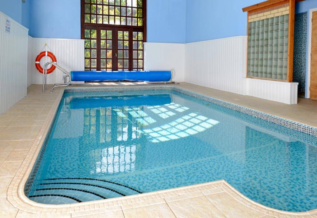 Exclusive use heated swimming pool