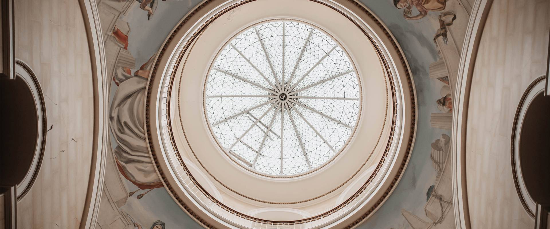Beautiful Georgian domed glass ceiling