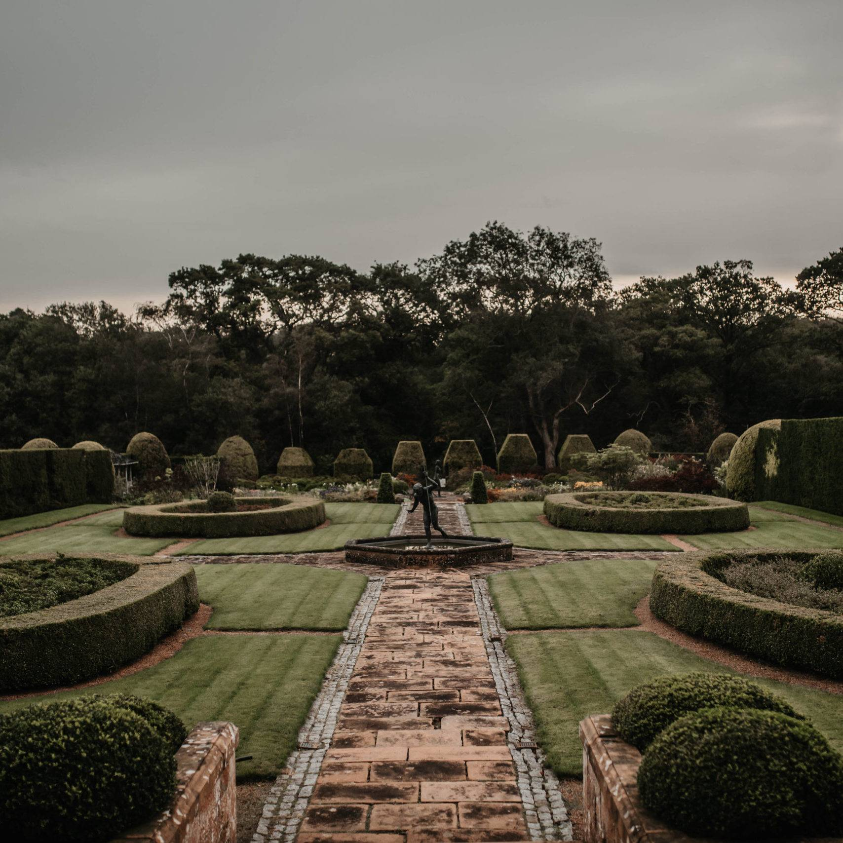 Italian Gardens at Kinmount House